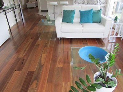 Brown Coloured Engineered Flooring