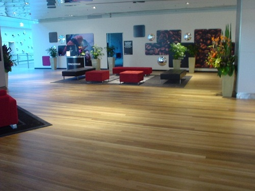 Tongue & Groove Spotted Gum Flooring